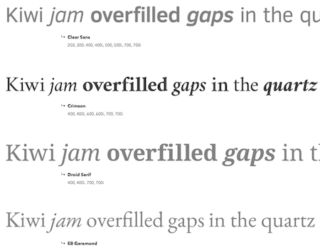 Fast And Beautiful Web Fonts