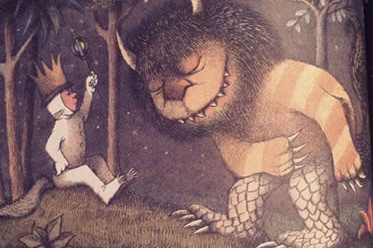 Fluidity Of Content And Design - Learning From Where The Wild Things Are