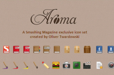 Free Icon Set: Aroma (250+ PNG Icons)
