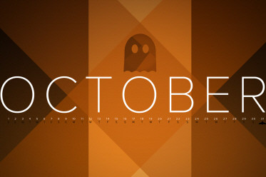 Desktop Wallpaper Calendar: October 2012