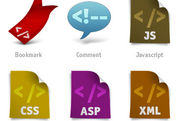 Free Icon Set for Web Developers: Coded