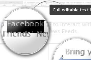 Free Full Layered Facebook GUI PSD Kit