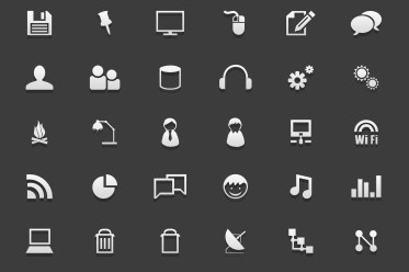 gCons: Free All-Purpose Icons for Designers and Developers (100 icons + PSD)