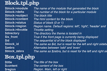 Drupal Cheat Sheet Desktop Wallpaper