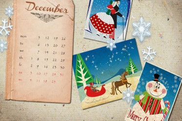 Desktop Wallpaper Calendar: December 2012