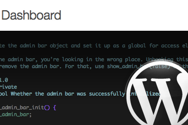 Inside The WordPress Toolbar