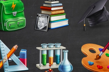Freebie: Academic Icon Set (10 Icons + PSD Source)