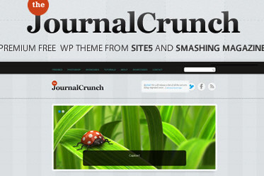 Free WordPress 3.0+ Theme for Portfolios and Magazines: JournalCrunch