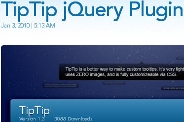 40 Useful jQuery Techniques and Plugins
