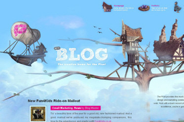 50 Beautiful and Creative Blog Designs