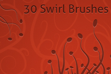 30 Free Photoshop Swirl Brushes