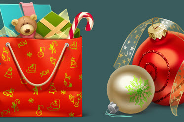 Christmas Icon Set (10 Quality PNGs - 256x256px each)