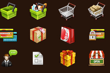 Free Professional E-Commerce Icon Set