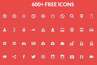 Gemicon Icon Set (600 PNG Icons + PSD Source)