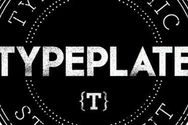Typeplate: A Starter Kit For Beautiful Web Type