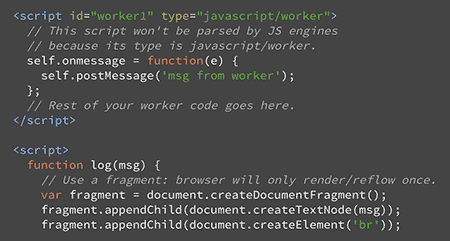 Using Web Workers Yet?